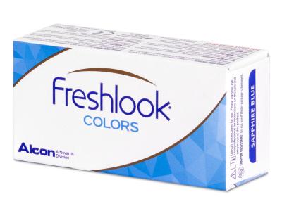 FreshLook Colors Blue - com correção (2 lentes)