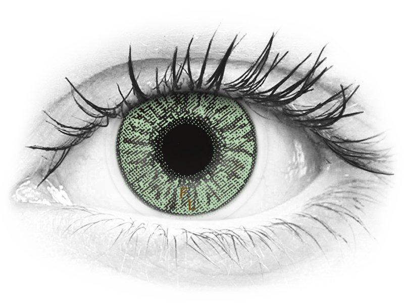 FreshLook Colors Green  - sem correção (2 lentes)