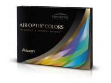 Lentes de Contacto Azul Brilhante com correção - Air Optix Colors (2lentes)