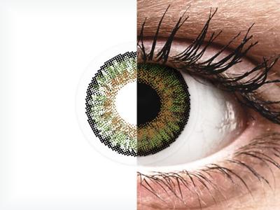 FreshLook One Day Color Green - com correção (10 lentes)