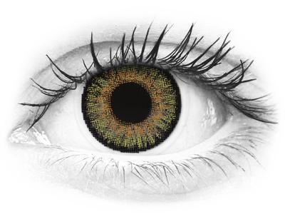 FreshLook One Day Color Pure Hazel - sem correção (10 lentes)