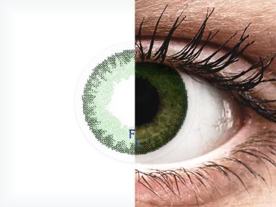 FreshLook Dimensions Sea Green - sem correção (2 lentes)