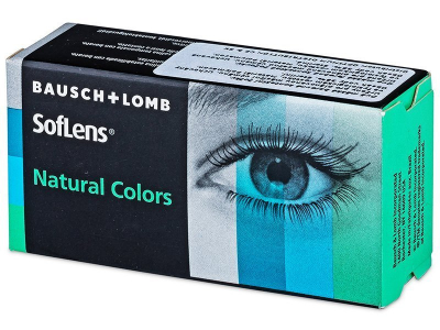 SofLens Natural Colors Dark Hazel - com correção (2 lentes)