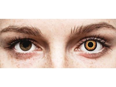 Lentes de Contacto Diárias Crazy Lens Lobisomem Laranja - ColourVUE (2 lentes)
