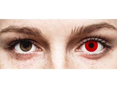 Lentes de Contacto Diárias Crazy Lens Vermelho Red Devil - ColourVUE (2 lentes)