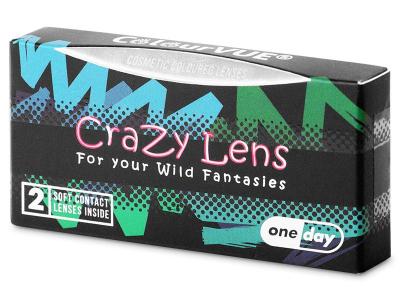 Lentes de Contacto Diárias Crazy Lens Crepúsculo - ColourVUE (2 lentes)