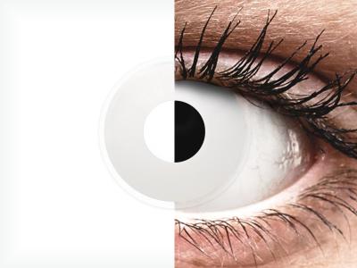 Lentes de Contacto Diárias Crazy Lens WhiteOut - ColourVUE (2 lentes)