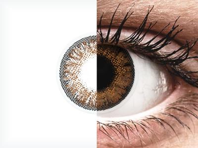Lentes de Contacto Diárias TruBlends Avelã com correção - ColourVue (10 lentes)