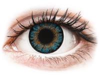 alensa.pt - Lentes de contacto - Lentes de Contacto Diárias TruBlends Azul com correção - ColourVue
