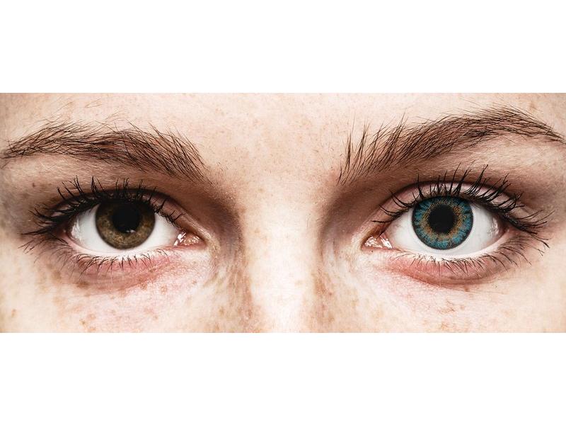 Lentes de Contacto Diárias TruBlends Azul com correção - ColourVue (10 lentes)