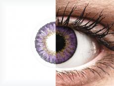 Air Optix Colors - Amethyst - com correção (2lentes)