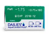 Dailies AquaComfort Plus Toric (30lentes)