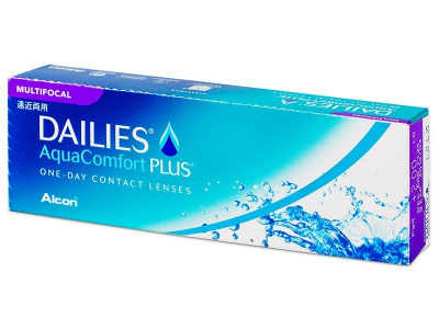 Dailies AquaComfort Plus Multifocal (30 lentes)