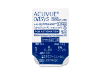 Acuvue Oasys 1-Day with HydraLuxe for Astigmatism (30 lentes)