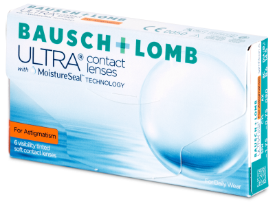 Bausch + Lomb ULTRA for Astigmatism (6 lentes)