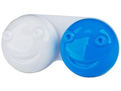 Estojo para lentes de contacto 3D - Azul
