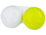 Estojo para lentes de contacto 3D - Amarelo