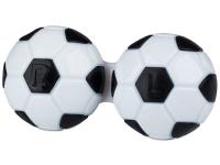 alensa.pt - Lentes de contacto - Estojo para lentes de contacto futebol - Preto