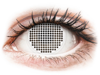 alensa.pt - Lentes de contacto - Lentes de Contacto Crazy Lens Tela Branca White Screen - ColourVUE
