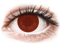 alensa.pt - Lentes de contacto - Lentes de Contacto Crazy Lens Tela Vermelha Red Screen - ColourVUE