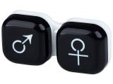 alensa.pt - Lentes de contacto - Estojo para lentes de contacto homem e senhora - Preto