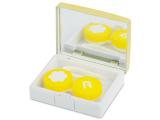 alensa.pt - Lentes de contacto - Caixa elegante com espelho para lentes - Dourado