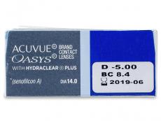 Acuvue Oasys (12lentes)