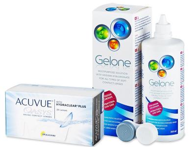 Acuvue Oasys (24 lentes) + Solução Gelone 360 ml