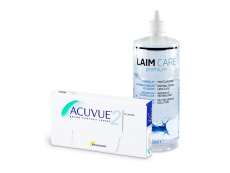 Acuvue 2 (6 lentes) + Solução Laim-Care 400 ml