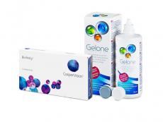 Biofinity (3 lentes) + Solução Gelone 360 ml
