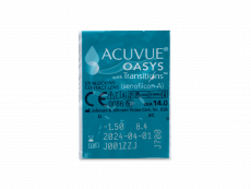 Acuvue Oasys with Transitions (6 lentes)