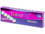 alensa.pt - Lentes de contacto - ColourVue One Day TruBlends Rainbow - sem correção