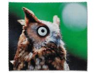 alensa.pt - Lentes de contacto - Tecido para Limpeza de Óculos - Coruja