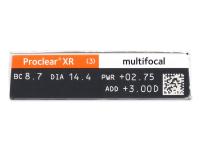 Proclear Multifocal XR (6 lentes)