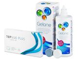 TopVue Monthly Plus (6 lentes) +SoluçãoGelone360ml