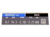 Biofinity Toric (3lentes)