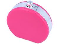 Estojo de lente em forma de frasco - rosa