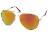 alensa.pt - Lentes de contacto - Óculos de sol aviador - Rosa/Laranja