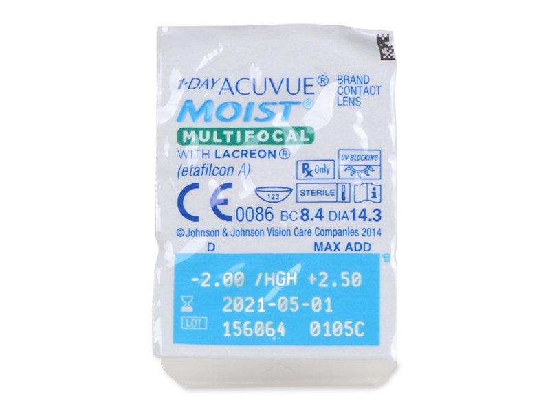 1 Day Acuvue Moist Multifocal (30 lentes)