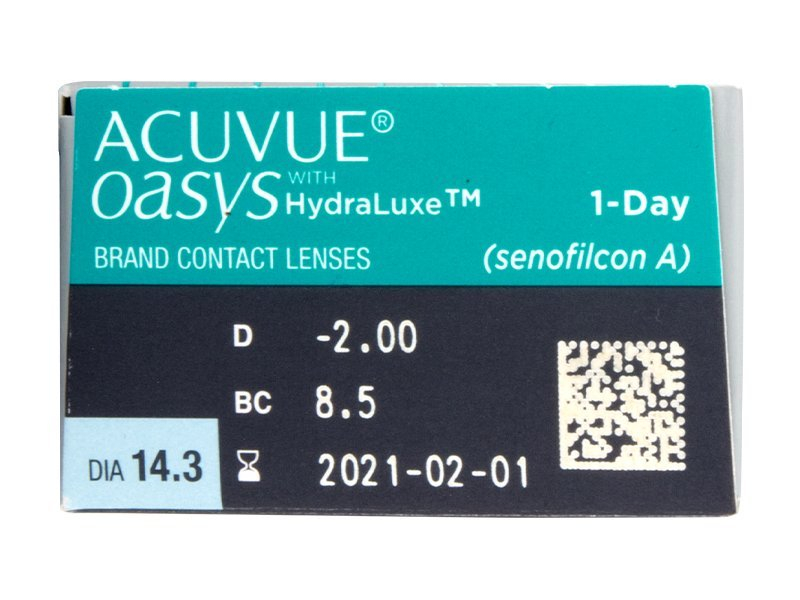 Acuvue Oasys 1-Day (30 lentes)