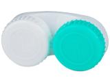 alensa.pt - Lentes de contacto - Estojo para lentes de contacto verde e Branco L+R