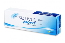 1 Day Acuvue Moist (30 lentes) - Johnson and Johnson