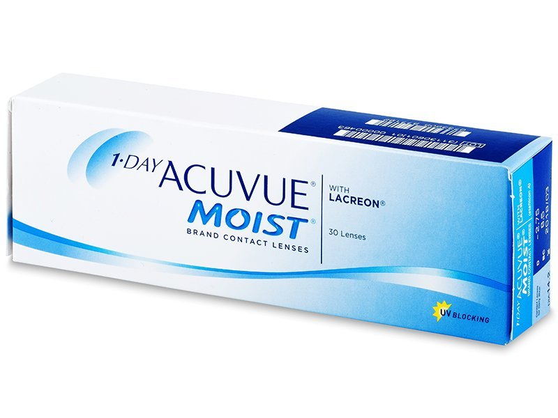 31bfb1eb39 1 Day Acuvue Moist – 30 lentes diárias | Alensa PT