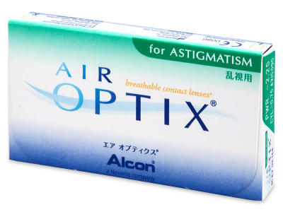 Air Optix for Astigmatism (3 lentes)