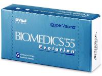 Biomedics 55 Evolution (6lentes)