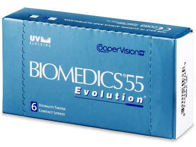 Biomedics 55 Evolution (6 lentes)