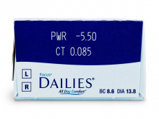 Focus Dailies All Day Comfort (30 lentes)