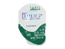 Focus Dailies Toric (30lentes)