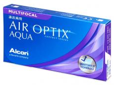 Air Optix Aqua Multifocal (3lentes)