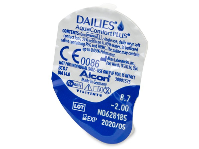 Dailies AquaComfort Plus (90 lentes)